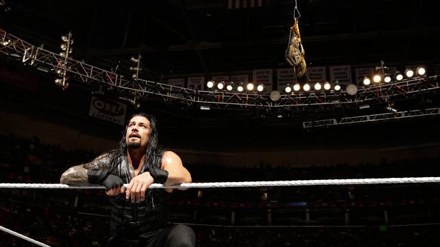 The wild card next Sunday in Boston. (Courtesy WWE)