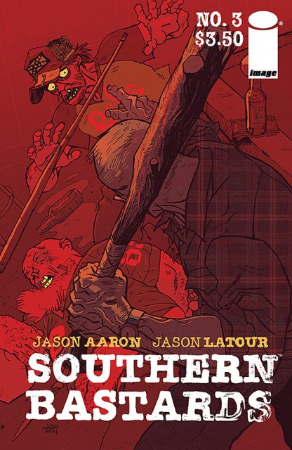 Southern Bastards #3 cover