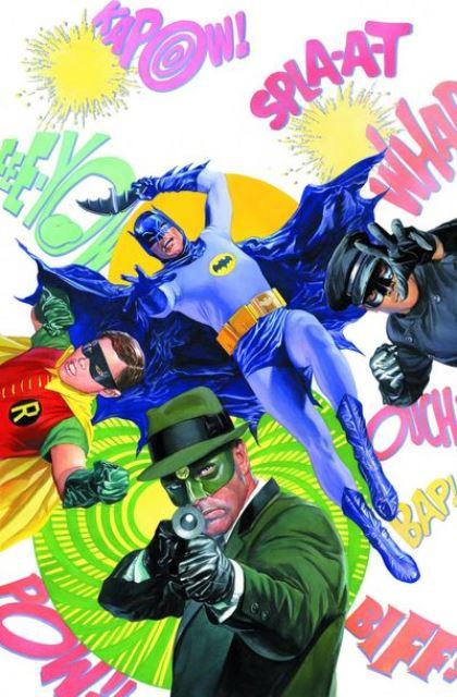 Batman '66 Meets The Green Hornet #1 cover