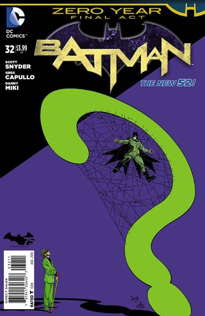 Batman #32 cover