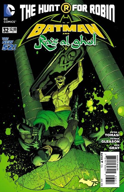 Batman and Ra's al Ghul #32 cover
