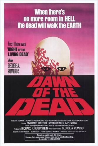 Dawn of the Dead was one of two honorable mentions that just missed the cut with 6 points. Both Dawn of the Dead and The Wiz received a second-place vote and a fourth-place vote.