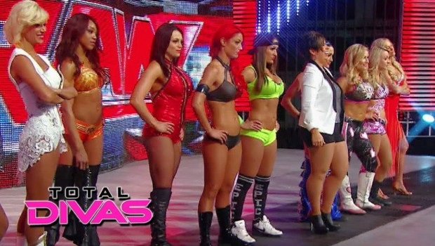 The whole gang gets in on the Divas title shot at Mania