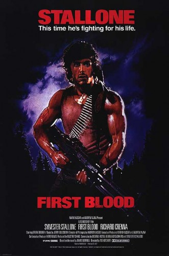 First Blood was one of two honorable mentions to finish with 9 points. It received two second-place votes and a fifth-place vote.