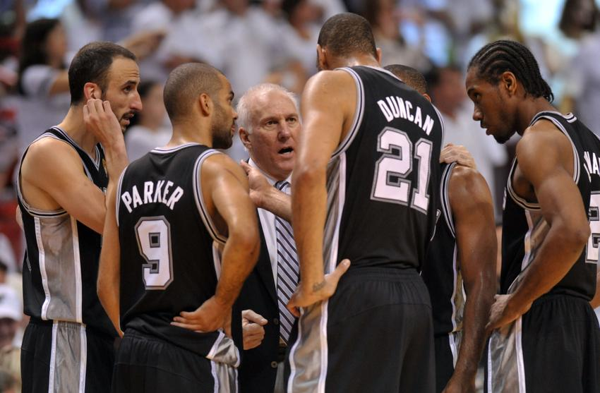Gregg Popovich has coached in the NBA Finals five previous times. This will be the first time that the Spurs have gone to the Finals in consecutive years, hoping to avenge last year's historic loss.