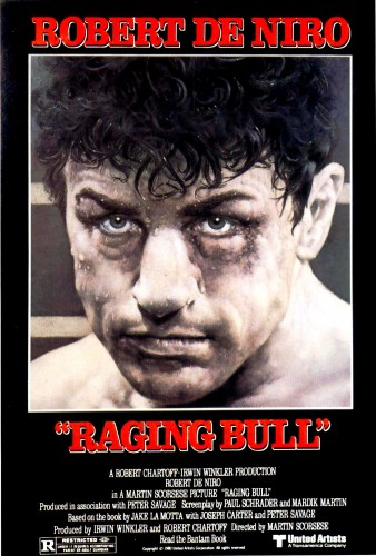 Raging Bull led all honorable mentions with 11 points -- a first-place vote, a second-place vote and a fourth-place vote.