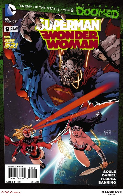 Superman/Wonder Woman #9 cover