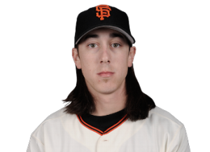 """Lincecum, during his""""hippie"""" years."""