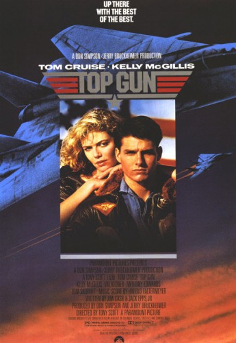 Top Gun was one of four movies that missed the cut by a single point. It finished with 8 points on a second-place vote, a fourth-place vote and two fifth-place votes.
