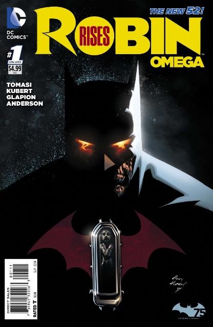 Robin Rises: Omega #1 cover