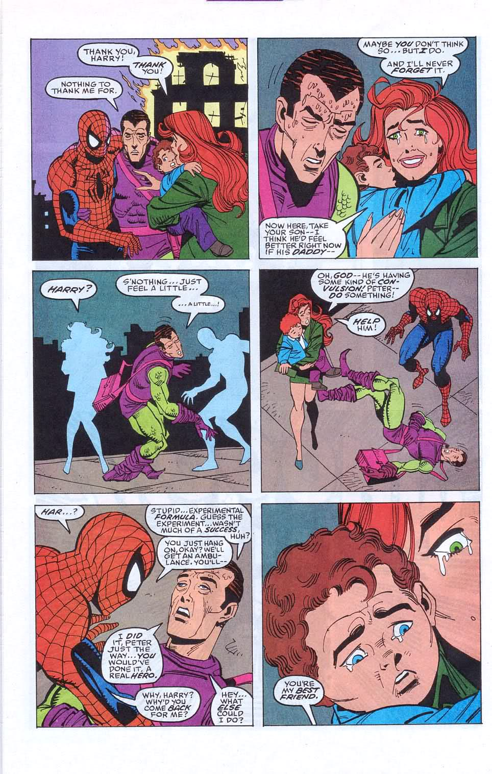 Sal Buscema and J.M. DeMatteis BRINGING THE EMOTION.