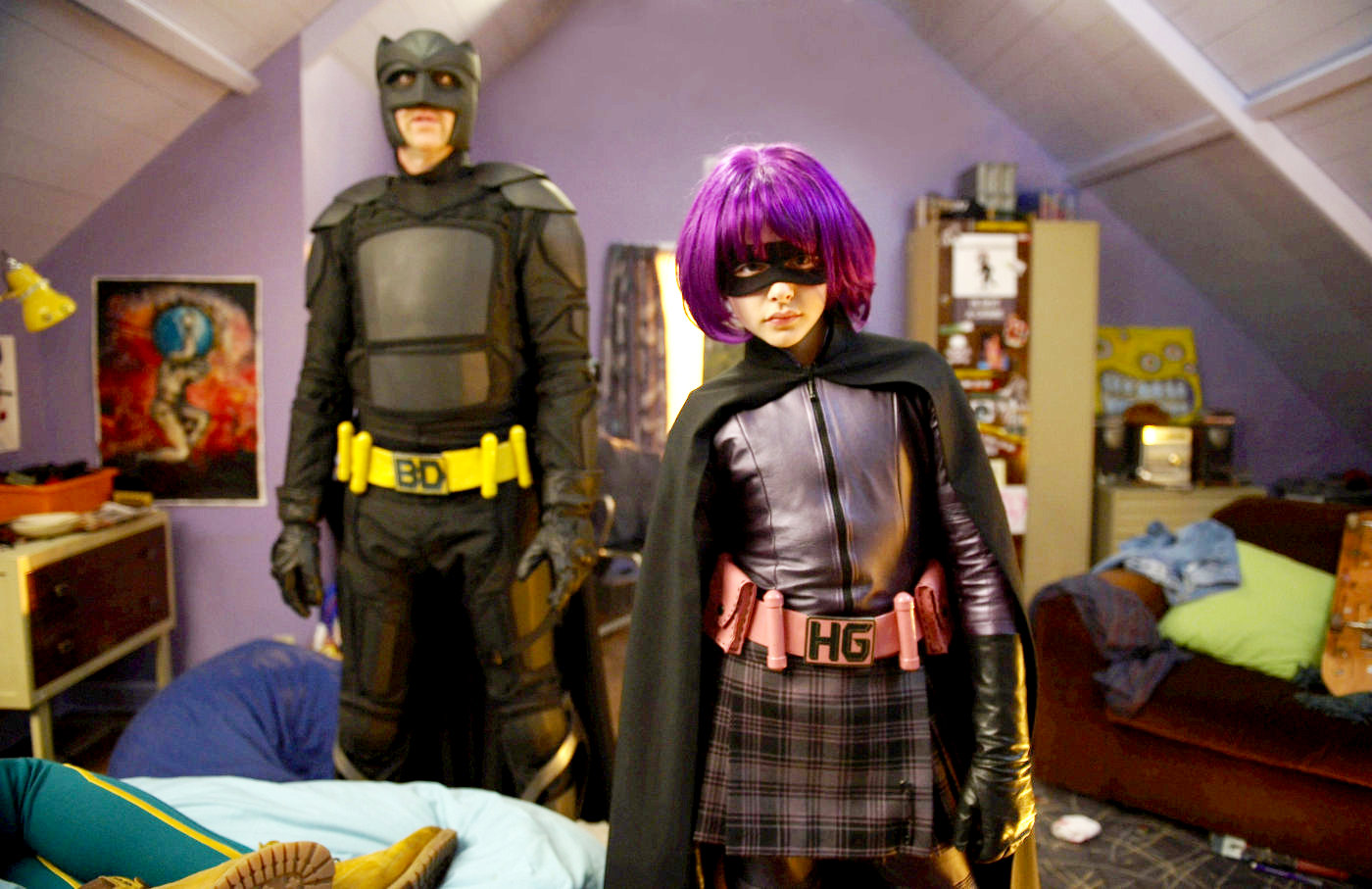 Nicolas Cage and Chloe Grace Moretz breathed life into the characters of Big Daddy and Hit Girl.