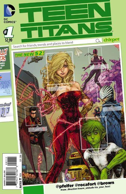 Teen Titans #1 cover