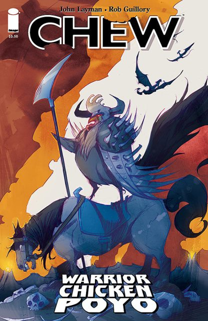 Chew: Warrior Chicken Poyo #1 cover