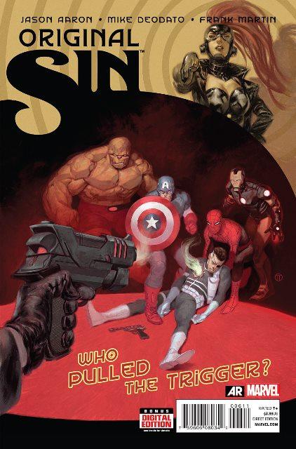 Original Sin #6 cover