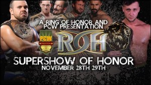 The best of Preston Championship will meet the best of Ring Of Honor