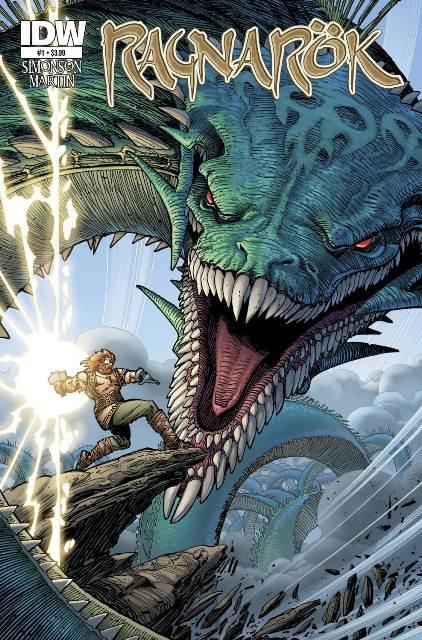 Ragnarok #1 cover