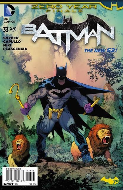 Batman #33 cover