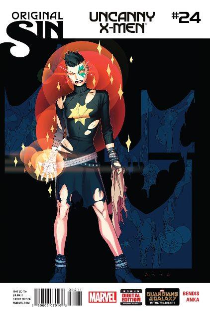 Uncanny X-Men #24 cover