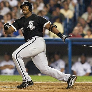 Frank Thomas was one of the most imposing right-handed hitters of all time.
