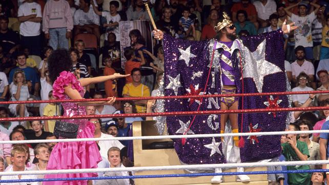 Where does Randy Savage rank on the list of great attires?