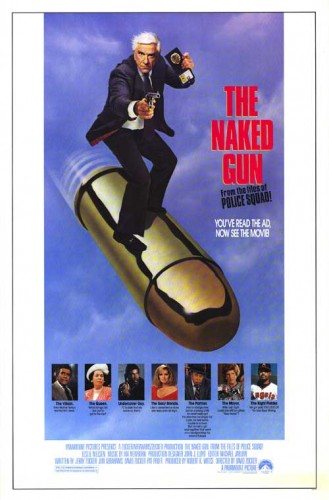 The Naked Gun led all honorable mentions in 1988, receiving 12 points on a first-place vote, a third-place vote and two fourth-place votes.