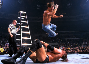 shawn michaels vs triple h