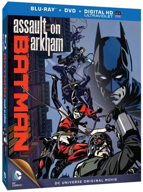 Batman: Assault on Arkham cover