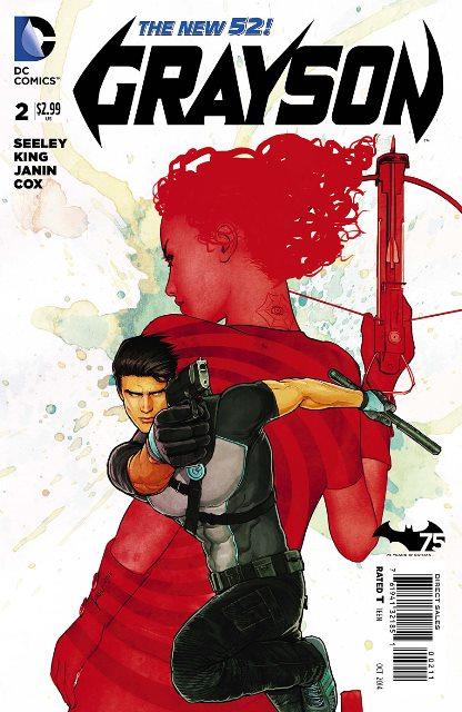 Grayson #2 cover