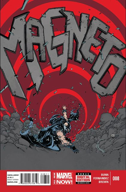 Magneto #8 cover