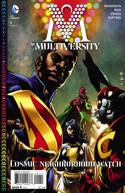 The Multiversity #1 cover