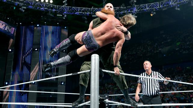 In tonight's main event Chris Jericho battles Erick Rowan in a match with major implications that could greatly affect his SummerSlam match with Bray Wyatt. [Photo Courtesy of WWE.com]