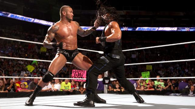 Randy Orton's obsession with Roman Reigns continues on this week's edition of Smackdown. [Photo courtesy of WWE.com]