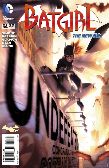 Batgirl #34 cover