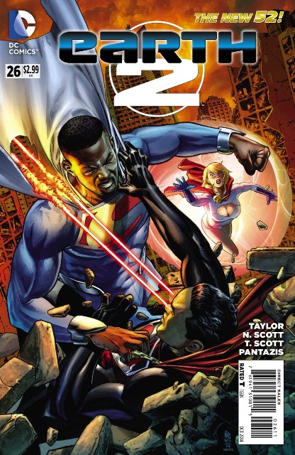 Earth 2 #26 cover