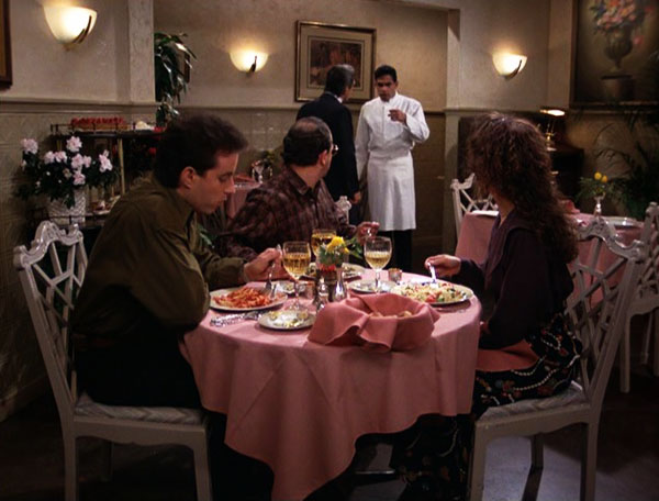 seinfeld-season-2-12-the-busboy-george-elaine-jerry-julia-louise-dreyfus-jason-alexander-jerry-seinfeld