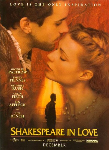 Shakespeare in Love missed the cut by one point, finishing with 7 points on a first-place vote and a fourth-place vote.