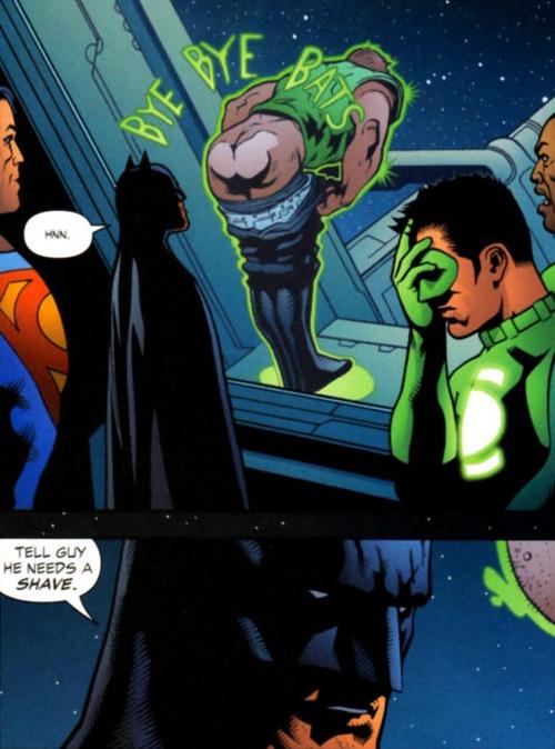 Bats kinda deserves it.