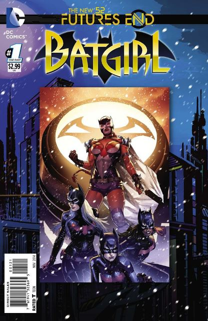 Batgirl Futures End #1 cover
