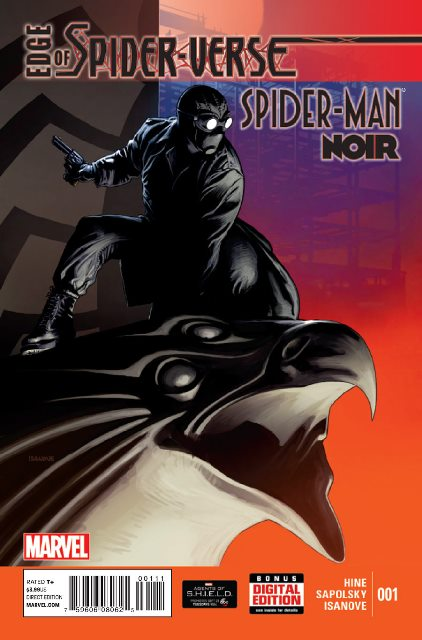 Edge of Spider-Verse #1 cover