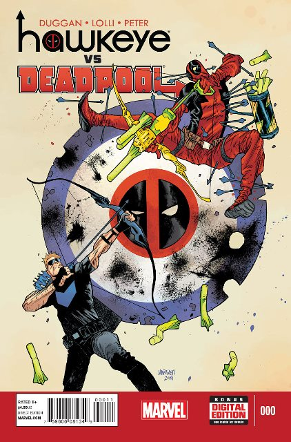 Hawkeye vs. Deadpool #1 cover
