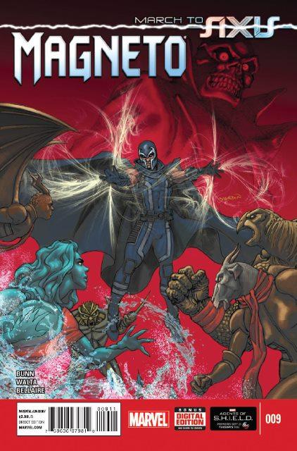 Magneto #9 cover