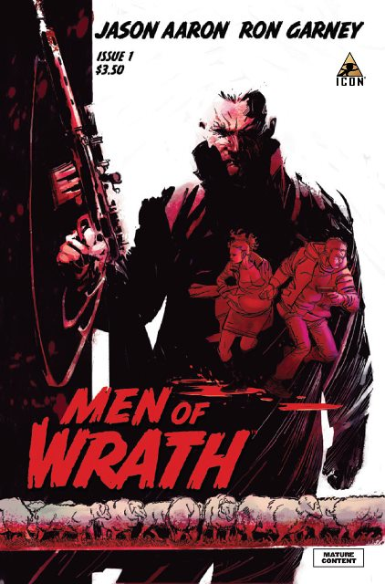 Men of Wrath #1 cover