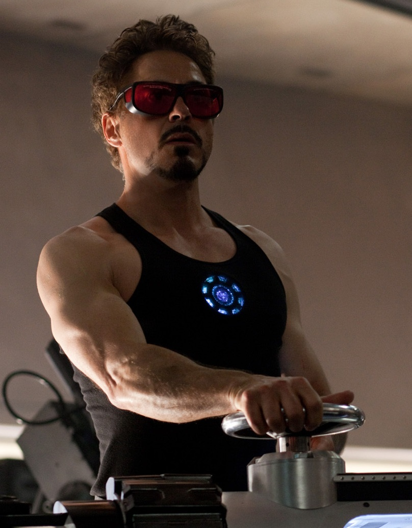 Robert Downey Jr Iron Man 2 - Fitness Philippines