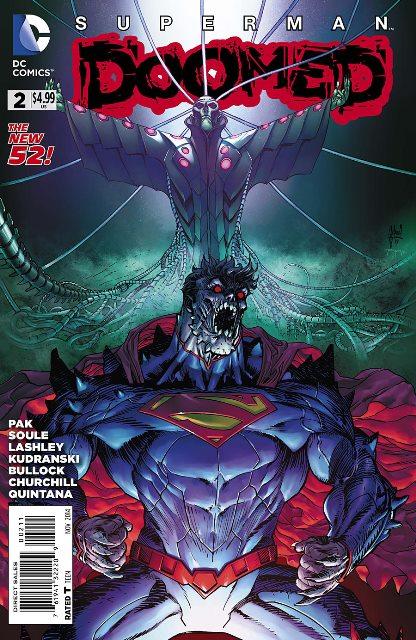 Superman Doomed #2 cover