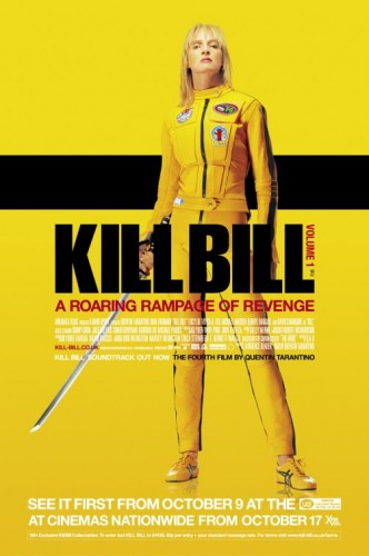 Kill Bill, Volume 1 led all honorable mentions with 10 points on a second-place vote and two third-place votes.