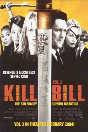 Kill Bill, Volume 2 led all honorable mentions with 7 points on a third-place vote and two fourth-place votes.