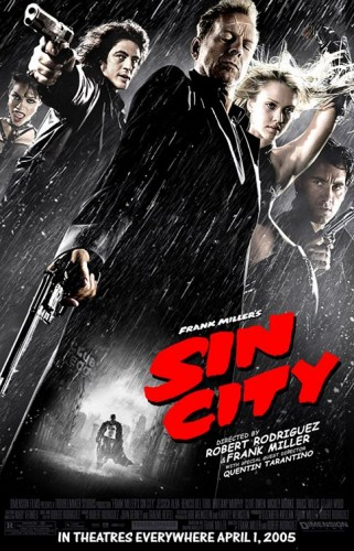 Sin City led all honorable mentions with 9 points on a first-place vote, a third-place vote and a fifth-place vote.