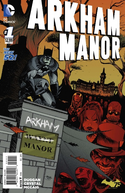 Arkham Manor #1 cover