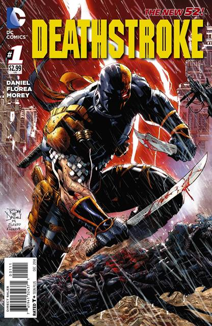 Deathstroke #1 cover